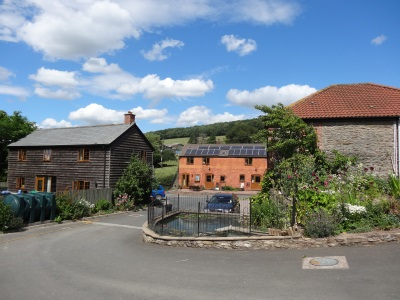 self catering cottages in herefordshire