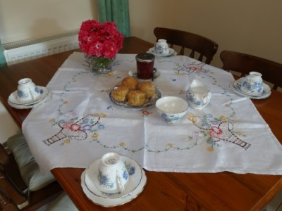 tea time at self catering near much marcle